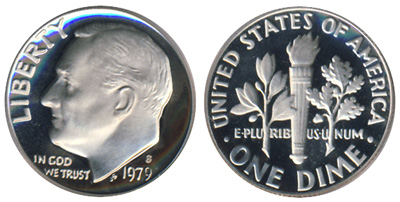 Proof Roosevelt Dime
