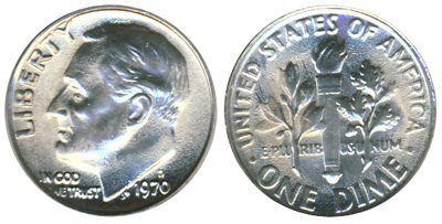 Roosevelt Dime spefications